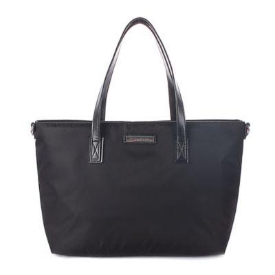 Perry Mackin Everyday Diaper Bag in Black