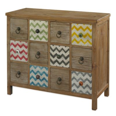 Powell Squiggly Dee 12-Drawer Console