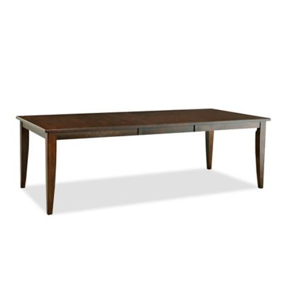 Klaussner Carturra Dining Room Table in Chocolate