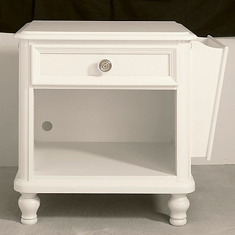 Pulaski Pawsitively Yours Nightstand In White Bed Bath