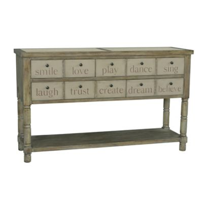 Pulaski Accents Inspirational Console Table