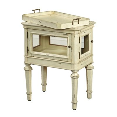 Pulaski Russell Accent Table in White