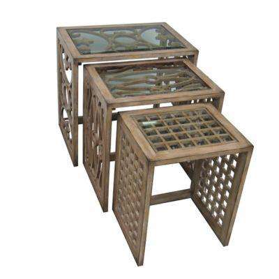 Pulaski Alejandro Nesting Tables (Set of 3)