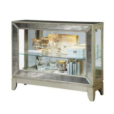 Pulaski Clarus Console Table in Silver