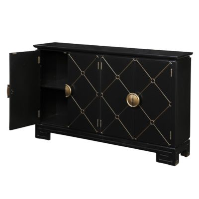 Pulaski Accents Nohar Console in Black