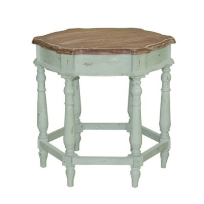 Cherry Finish Accent Table