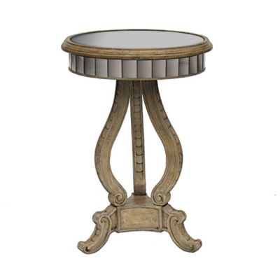 Pulaski Antiqued Mirror Accent Table