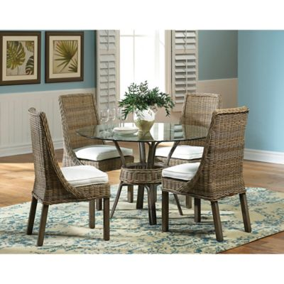 Panama Jack Exuma 5-Piece Dining Set in Grey