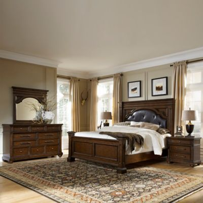Pulaski Durango Ridge 4-Piece Queen Bedroom Set