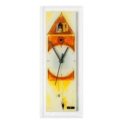 Veritas Handmade Cuckoo Glass Wall Clock