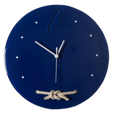 Navy Wall Clocks