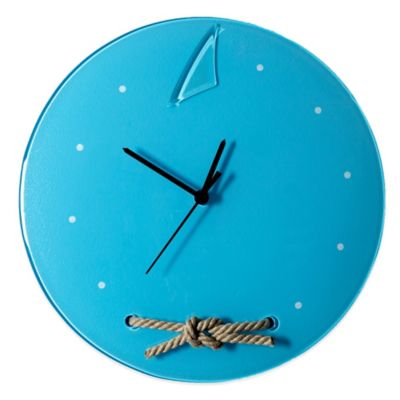 Marine Blue Wall Clocks