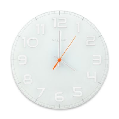 NeXtime Classy Wall Clock in White