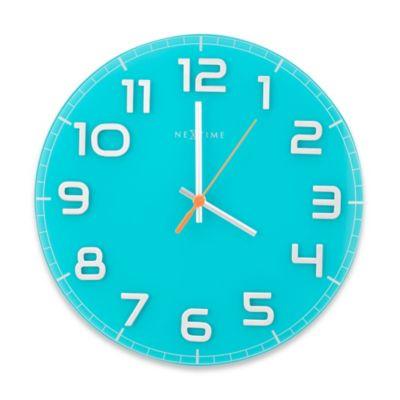 Turquoise Wall Clocks