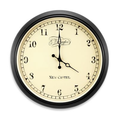 NeXtime Aaltje Wall Clock in Black