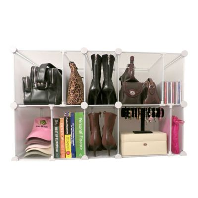 Modular Organizer in Clear