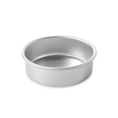 Images Of Round Cake Pans : Buy Wilton  Performance? Aluminum 6-Inch Round Cake Pan ...