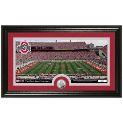 Ohio State University Stadium Minted Coin Panoramic Photo Mint