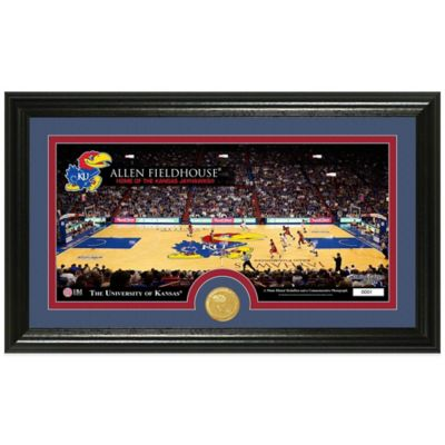University of Kansas Court Bronze Coin Panoramic Photo Mint