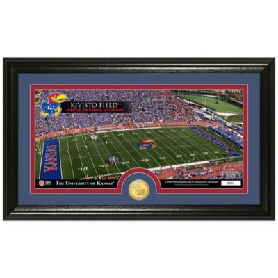 University of Kansas Stadium Bronze Coin Panoramic Photo Mint