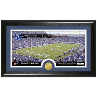 University of Kentucky Stadium Bronze Coin Panoramic Photo Mint