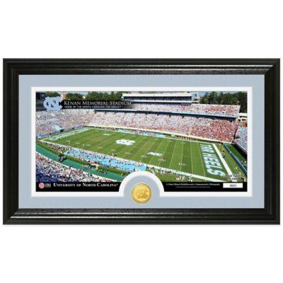 University of North Carolina Stadium Bronze Coin Panoramic Photo Mint