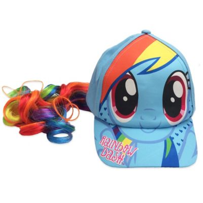 My Little Pony® Rainbow Dash Baseball Cap with Faux Ponytail