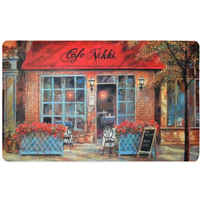 Fashion Comfort 18-Inch x 30-Inch Café Nikki Kitchen Foam Mat