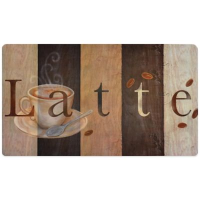Soothing Chef 20-Inch x 36-Inch Latte Anti-Fatigue Kitchen Mat