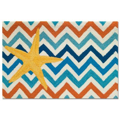 Multi Chevron Rug