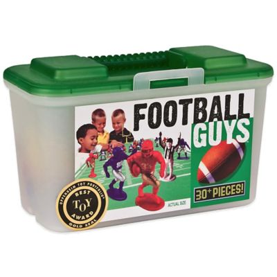 Kaskey Kids 30-Piece Red vs. Blue Football Guys