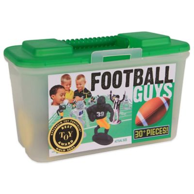 Kaskey Kids 30-Piece Black vs. Grey Football Guys