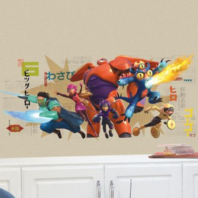 Disney® Big Hero 6 Peel and Stick Wall Decals