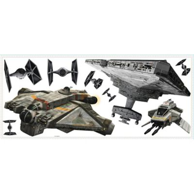Disney® Star Wars™ Rebel & Imperial Ships Peel and Stick Giant Wall Decals