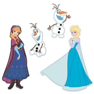 Disney® Frozen 3D Foam Wall Decals