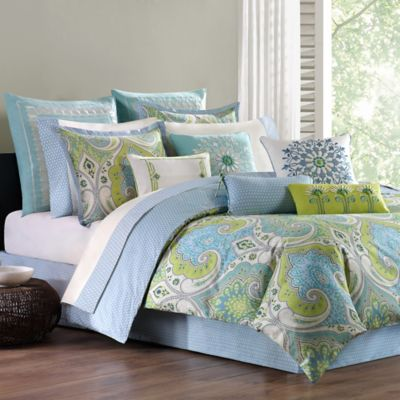 Buy Green Reversible Comforter Set From Bed Bath Amp Beyond