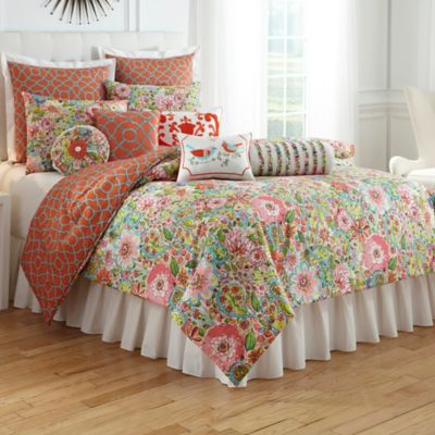 Dena Home™ Dakota European Pillow Sham in Coral