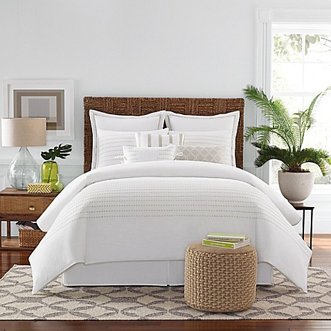 Real Simple Boden Comforter Set in White - Bed Bath & Beyond