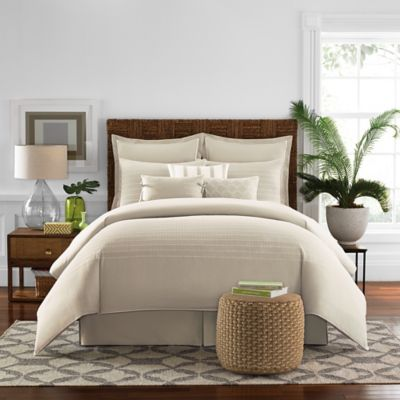 Real Simple White Twin Comforter