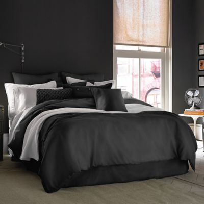 Kenneth Cole Reaction Home Mineral King Bed Skirt in Dusty Black
