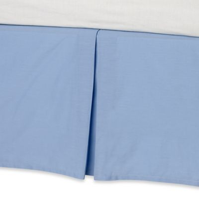 Real Simple® Parker Twin Bed Skirt in Blue