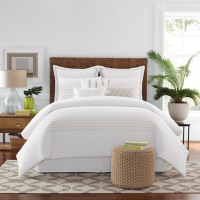 Real Simple® Boden Twin Bed Skirt in White