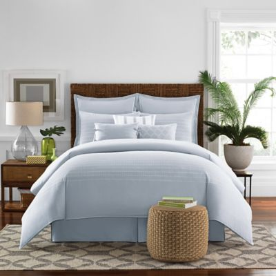 Real Simple® Boden Twin Bed Skirt in Pale Blue