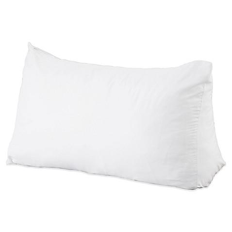 reading wedge pillow bed bath beyond. Black Bedroom Furniture Sets. Home Design Ideas