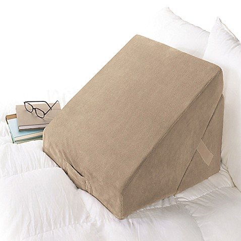 Brookstone® 4-in-1 Bed Wedge Pillow