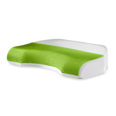 Comfort Revolution® Body Cove Cooling Gel & Memory Foam Pillow for Back/Side Sleepers