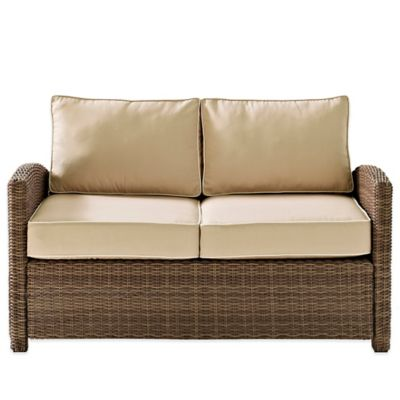 Wicker Loveseat