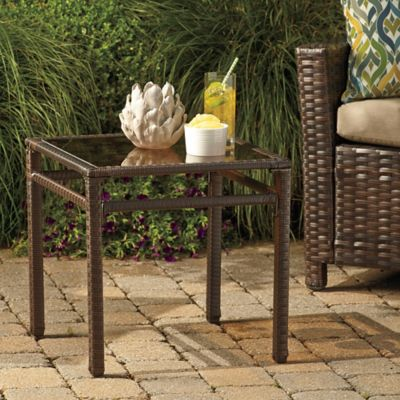 Barrington Wicker Accent Table