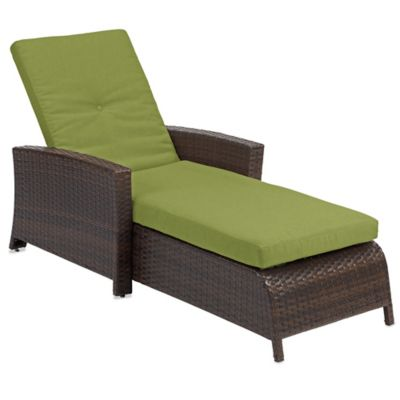 Wicker Patio Chaise