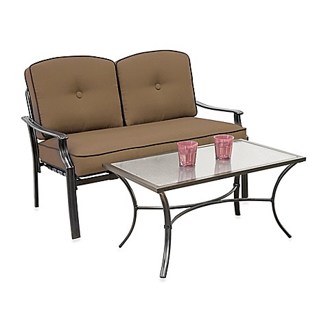 Hawthorne 2-Piece Deep Seating Loveseat Set